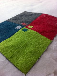 Nice quilt back idea.