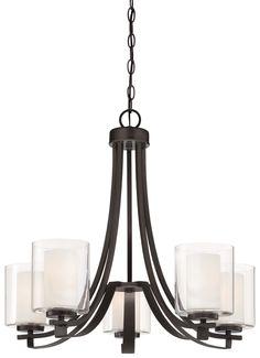 Minka Lavery Parsons Studio 5 Light Candle Chandelier & Reviews | Wayfair