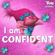 I am confident!  #trolls #poppy #dreamworks www.charmingsusie.origamiowl.com