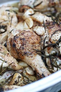 30 Day Challenge - Chicken with 40 Garlic Cloves | Primal Palate