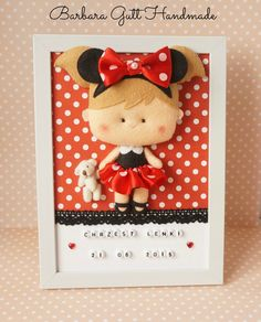 Barbara Handmade...: Myszka Minnie / Minnie Mouse