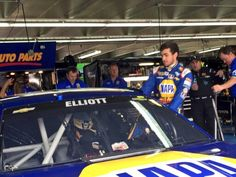 Chase Elliott will race at Charlotte MotorSpeedway in the #25 Napa Cup car
