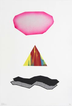 GET THE LOOK of Geometric Abstraction with this silkscreen print by Tappan Collective artist Martin Davis for $300