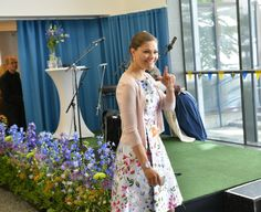 """Scandinavian Royals. on Twitter: """"#Nationaldagen Crown Princess Victoria and Prince Daniel attended the citizenship ceremony for the new Swedes."""