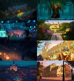 The detail that goes into Princess and the Frog is breathtaking. Another reason that this is my dream job!