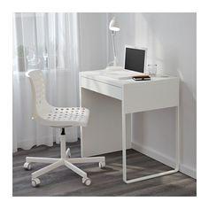 MICKE Schreibtisch - weiß - IKEA Produktmaße Breite: 73 cm Tiefe: 50 cm Höhe: 75 cm Max Belastung: 25 kg