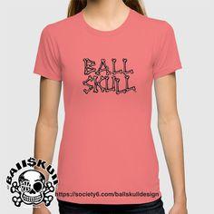 #BAllSKUll Bone Letter Tee #bball #tshirt #tee #design #basketball #basketballdesign #hoop #skull #skulldesign #skullicious #bone #bones #skeleton #バスケ #バスケットボール #スカル #Tシャツ #teelicious #骸骨 #髑髏 #boneletters #moji