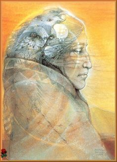 Path of the Shaman 1990 Calendar by Susan Seddon Boulet Native Art, Native American Art, American Indians, Vision Quest, Namaste, Spirited Art, Visionary Art, Sacred Art, Psychedelic Art
