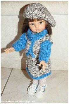 Tuto ensemble tricot pour Paola Reina