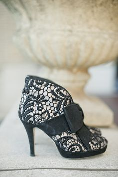 lace booties steal our hearts Photography By / http://harwellphotography.com,Styling By / http://nicholaskniel.com