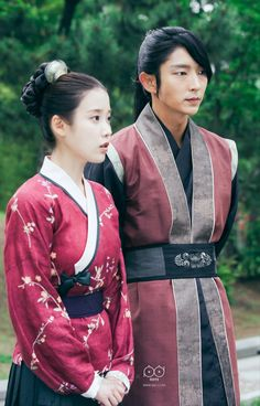 Prince Wang so and Hae soo ❤ Korean Drama Movies, Korean Actors, Korean Dramas, Korean Traditional, Traditional Outfits, Scarlet Heart Ryeo Wallpaper, Moon Lovers Drama, Wang So, Handsome Prince