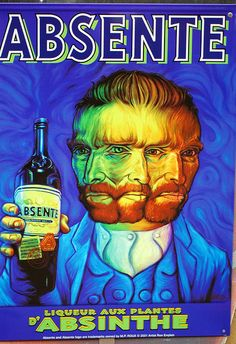 Absinthe poster by pand0ra23, via Flickr