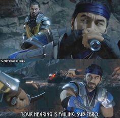 Sub-Zero Chapter MK11 Mortal Kombat Memes, Mortal Kombat X, Liu Kang And Kitana, Scorpion Mortal Kombat, Noob Saibot, Predator Alien, Mileena, Sub Zero, The Evil Within