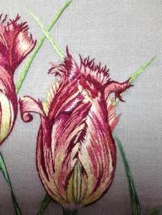 Peinture à l'aiguille réalisée par Anne Marie from Catherine Laurencon