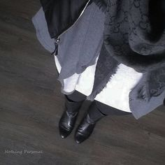 NOTHING PERSONAL: OOTD Vintage Boots l Gucci l Vila l Vero Moda