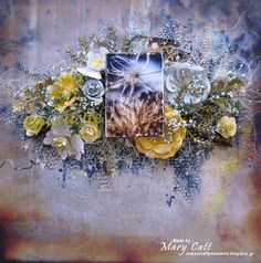 Mary's Crafty Moments: ''Exquisite'' - DT Layout for The Dusty Attic Blog...