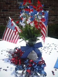 Patriotic/ Fourth of July Summer Party Ideas | Photo 8 of 11 | Catch My Party