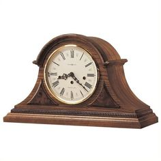 Howard Miller Worthington Key Wound Mantel Clock ($868) ❤ liked on Polyvore featuring home, home decor, clocks, howard miller table clock, howard miller mantle clock, roman numeral clock, bronze clock and chiming clocks