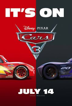Cars 3  - Sound tracks: Glory Days - Written by Bruce Springsteen - Performed by Andra Day