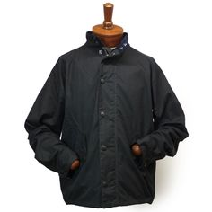 Barbour New Waxed Barrington Jacket バブアー ワックスドコットン フィールドジャケット ブルゾン【$349】[043]