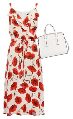 """""""Poppy Dress"""" by larissamarieleavitt on Polyvore featuring French Connection"""
