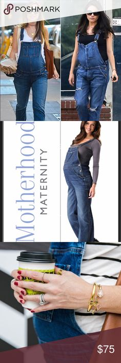 Meternity Overalls Mootherhood maternity overalls in xl EUC very stylish can be worn even after your delivery. A long after. Looks very cute on. With adjustable clasps. Measurements coming soon Motherhood Maternity Jeans Overalls