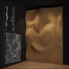 parametric wall | 3D model