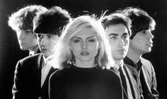 Debbie Harry with Blondie in 1976. New Wave Music ced5ed122895c