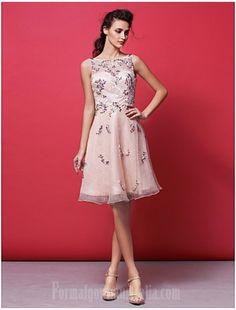 97b1d959fe9 Australia Cocktail Party Dress Pearl Pink Plus Sizes Dresses Petite A-line  Princess Bateau Short Knee-length Organza