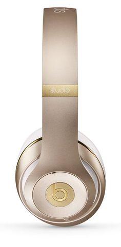 Beats Studio Wireless Over-Ear Headphones - Gold: Amazon.co.uk: Electronics