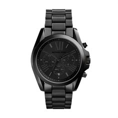 Michael Kors Bradshaw Black Chronograph Watch $250