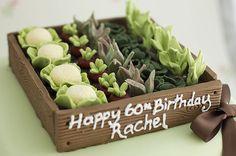 veg garden cake