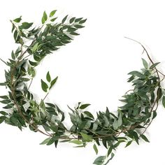 Greenery Garland, Leaf Garland, Flower Garlands, Garden Types, Diy Garden, Cheap Artificial Plants, Artificial Flowers, Fake Ivy, Artificial Eucalyptus Garland