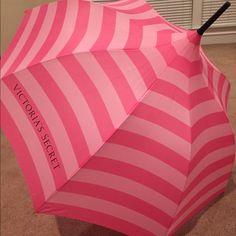 Victoria's Secret umbrella NWT! Victoria's Secret huge umbrella. PRICE IS FIRM UNLESS BUNDLED Victoria's Secret Accessories Umbrellas
