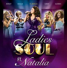 Natalia in 2016 met Ladies of Soul in het Sportpaleis