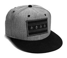 55e3508606b97 Strange Cargo Chicago Flag Cap Flat Brim Grey Black Snap Back Baseball Hat   Created in the shadows of Wrigley Field in the greatest city in the midwest.