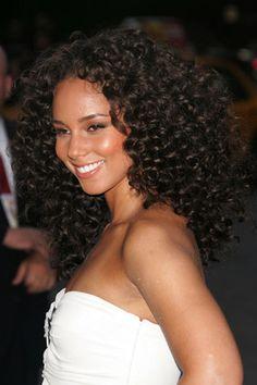Alicia Keys cute hair.....