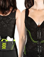 Concealed Carry Clothing Corset is the all-in-one Holster and Shapewear Solutio