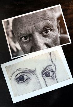 La mirada del artista, uno de los recuerdos que puedes encontrar en la tienda- librería del Museo Picasso Málaga.