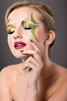 Facepainting mit  Kryolan Produkten