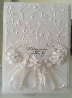 Image result for darice loose floral embossing folder cards