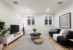 Stunning Sunday: Brand new weatherboard for sale in Essendon, Melbourne, VIC Melbourne House, Gallery Wall, Lounge, Real Estate, House Design, Brand New, Sunday, Home Decor, Living Rooms