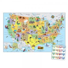 New U S Wall Map