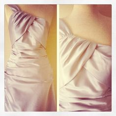 Silver Bridesmaid Dress by SnapbirdCollections on Etsy, $125.00
