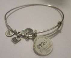 Alex-and-Ani-STAND-Up-To-CANCER-Charm-Bangle-Bracelet-Russian-SILVER