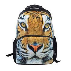 YZL 3D backpack Tiger felt bag trends for men and women shoulder bags  travel bags 1 2fad9a90f10d2