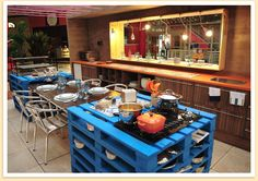 When you have an amazing kitchen in your home and also you want to ensure it is lovelier with a DIY Recycled Pallet Kitchen Furniture ideas. Timber made pallets came here with first-rate concepts of kitchen associated like kitchen space for storage i Diy Kitchen, Kitchen Decor, Kitchen Design, Kitchen Racks, Messy Kitchen, Awesome Kitchen, Kitchen Gadgets, Kitchen Storage, Pallet Crates