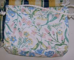 Placemat purse in lovely pastels...