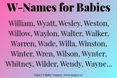 Long list of names both boy names and girl names that are 3