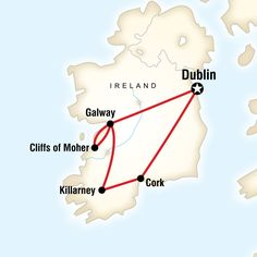 Check out the itinerary for GEEO's Ireland program!